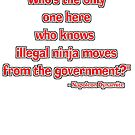 """""""Illegal ninja moves!"""" - Napoleon Dynamite  by SynthOverlord"""