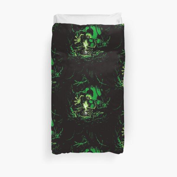 Cyber Druid Duvet Cover
