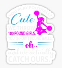 Cheering Quotes Stickers | Redbubble