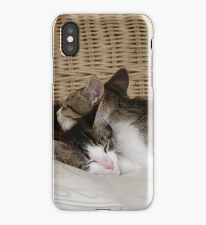 Snuggled Up iPhone Case