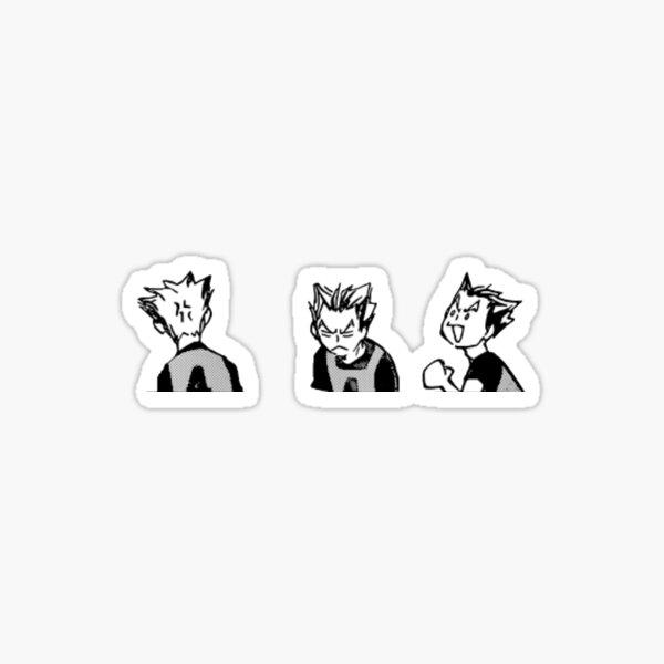 koutarou bokuto Sticker