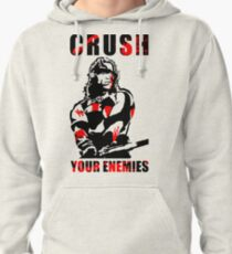 Crush Your Enemies Pullover Hoodie