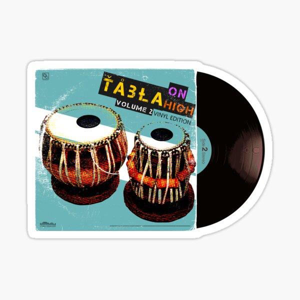 Tabla On High Vol.2 Vinyl Edition Sticker