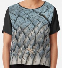 #Tire, #Rough, #Pattern, #Abstract, Dirty, Leather, Strength, Trunk, Industry, Design Chiffon Top