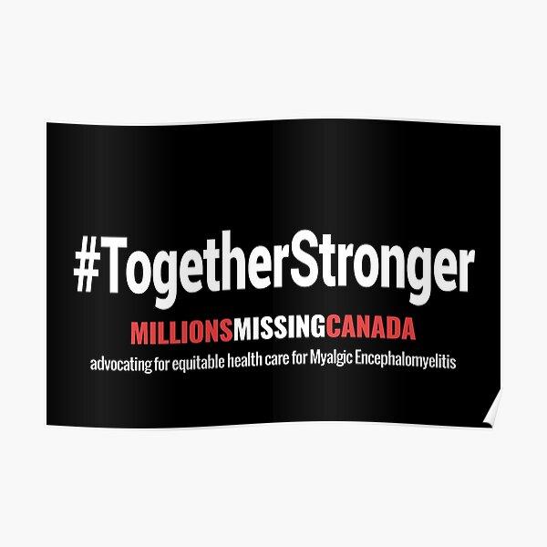 #TogetherStronger (black) Poster