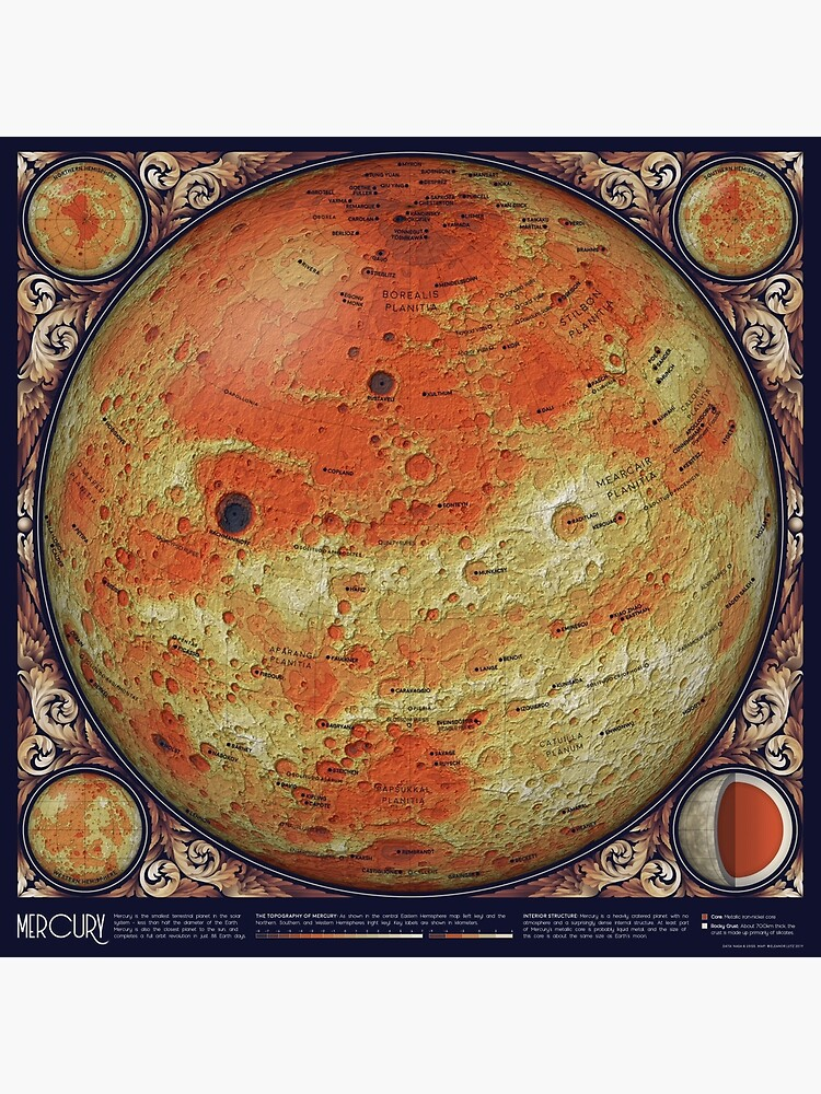 A Map of Mercury by EleanorLutz