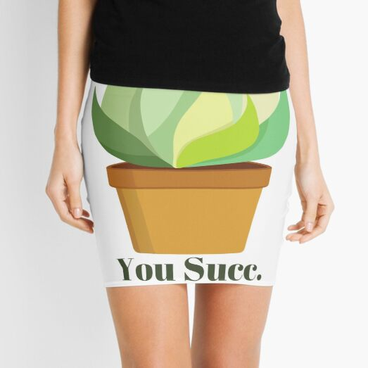 You Succ. Mini Skirt
