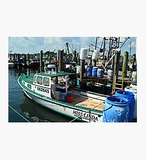 Lobster Boat at Point Judith, RI [10] Photographic Print