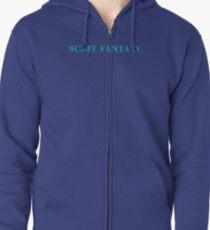 SCI-FI FANTASY Zipped Hoodie