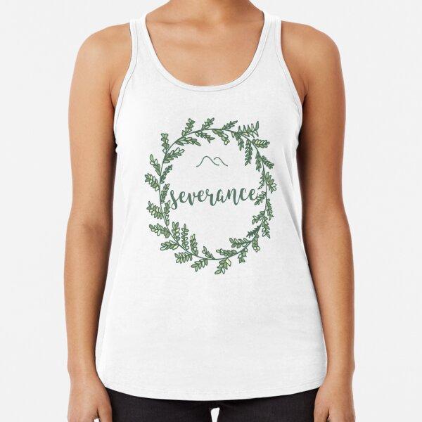 Severance Laurel Wreath Racerback Tank Top