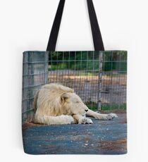 White Lion - Zoo Arcachon Tote Bag