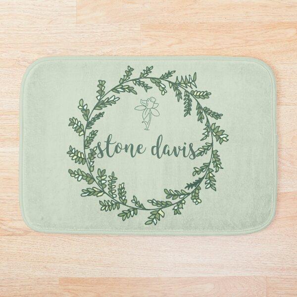 Stone Davis Laurel Wreath Bath Mat
