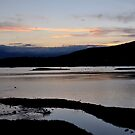 Dusk on the Susquehanna River by Corkle