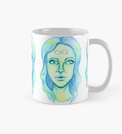Blue Hair, Green Skin Mug