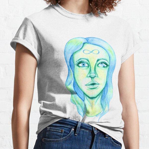 Blue Hair, Green Skin Classic T-Shirt