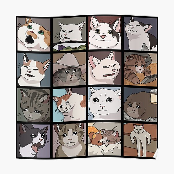 Meme Cats 2.0 Poster