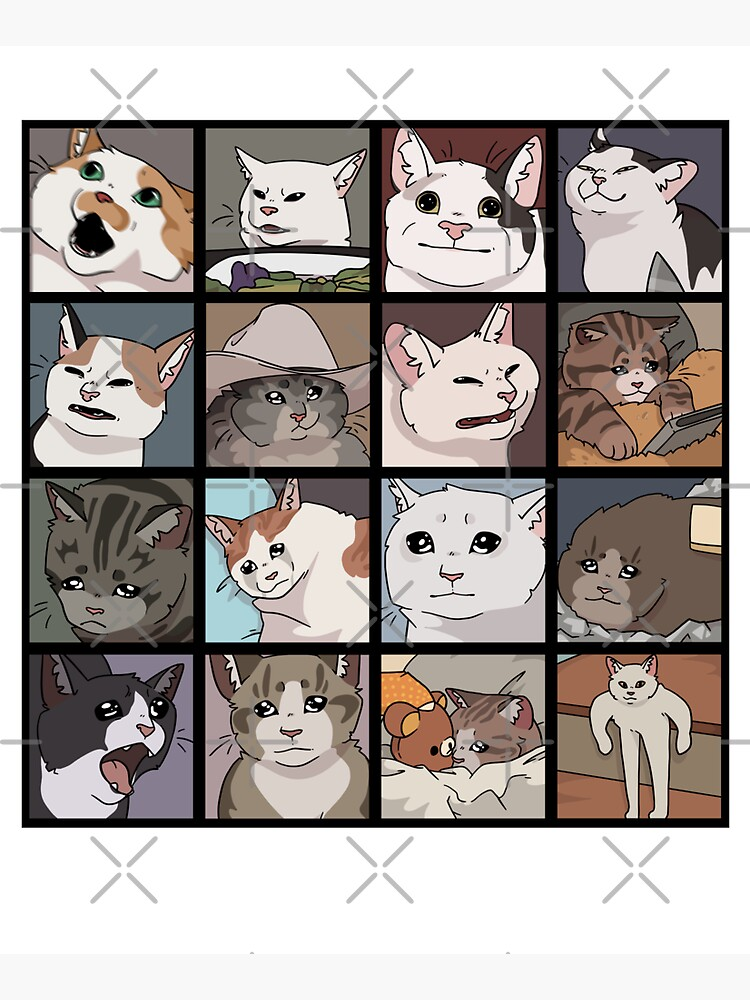 Meme Cats 2.0 by How-Do-U-Art
