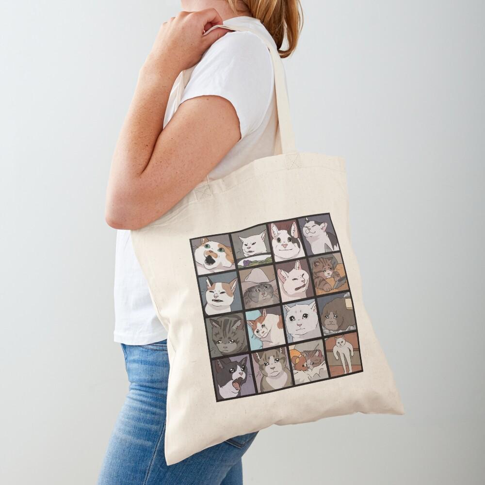 Meme Cats 2.0 Tote Bag