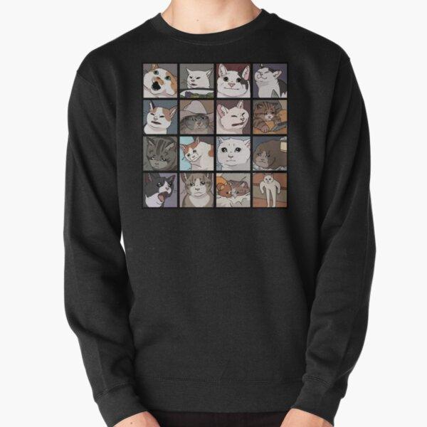 Meme Cats 2.0 Pullover Sweatshirt