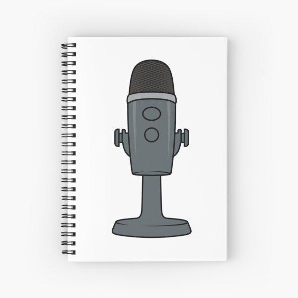 FUNKY SILVER MICROPHONE TAPE NECKLACE CUTE POP ROCK STAR KARAOKE MUSIC 80S DISCO