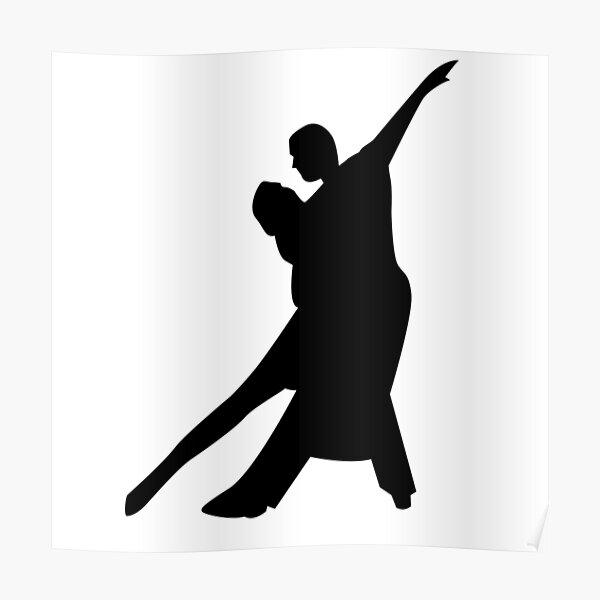 Dancing Couple Wall Art Redbubble