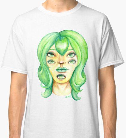 Green Hair, Golden Skin Classic T-Shirt