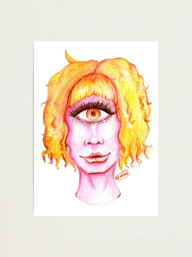Alternate view of Golden Hair, Pink Skin Photographic Print
