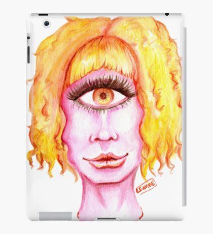 Golden Hair, Pink Skin iPad Case/Skin