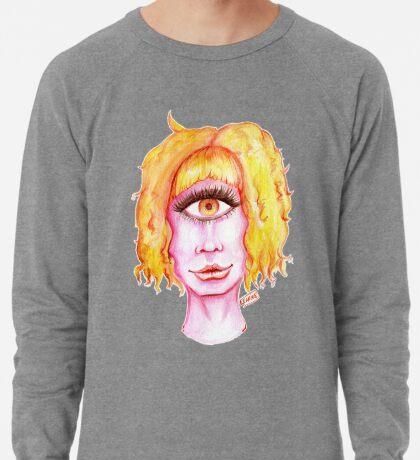 Golden Hair, Pink Skin Lightweight Sweatshirt