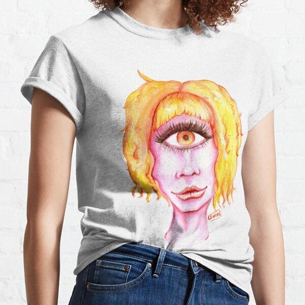 Golden Hair, Pink Skin Classic T-Shirt