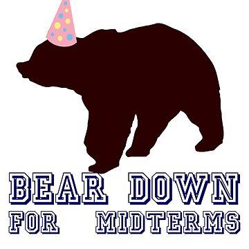 Bear Down para Midterms de politedemon