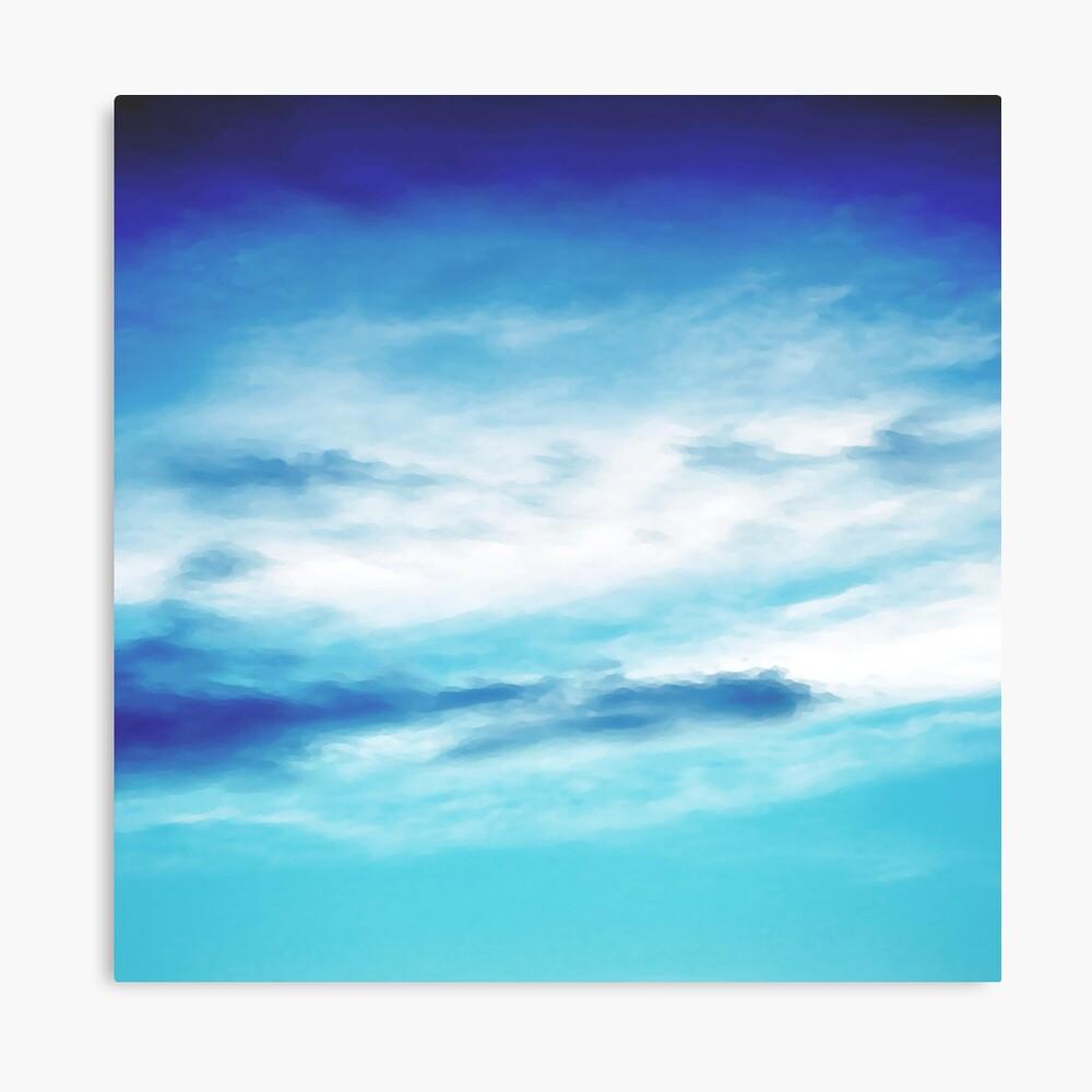 Sky blend Canvas Print