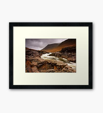 The Pool Of Tranquility Framed Print