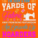 Few Yards of Fabric Away Funny Quilting von mjacobp