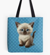 Cataclysm: Siamese Kitten Paws Tote Bag
