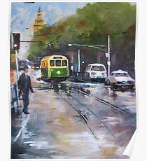 Melbourne Tram Poster