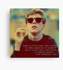 Breakfast Club 1 Canvas Print