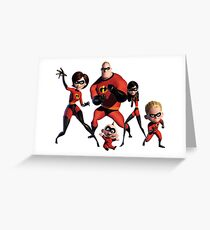 The incredibles 2 Greeting Card