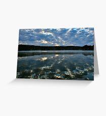 Putnam Lake New York Greeting Card
