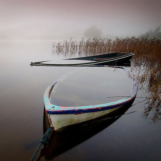 Sometimes, in Scotland... it rains!! by David Mould