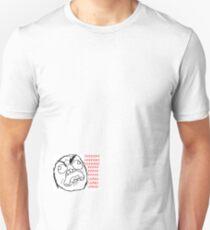 """ffuuu"" - rage faces T-Shirt"