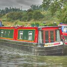 narrowboat on the cut by SimplyScene