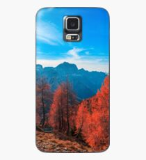 Cloudy autumn day in the italian alps Case/Skin for Samsung Galaxy