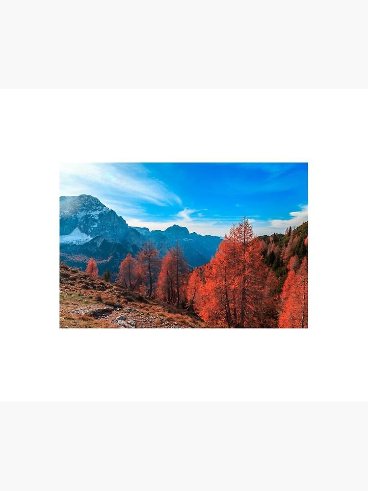 Cloudy autumn day in the italian alps by zakaz86