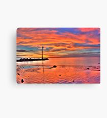 Darwin Sunset 2010 Canvas Print