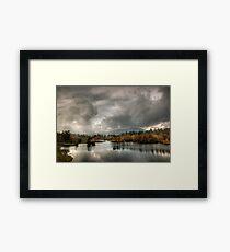 Afternoon light, Tarn Hows Framed Print