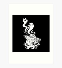 Spirit Book Art Print