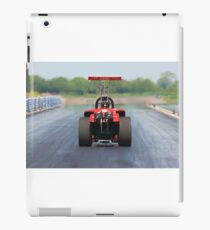 Live life a quarter of a mile at a time iPad Case/Skin