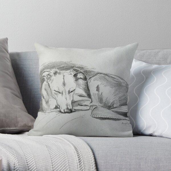 Finally home Throw Pillow