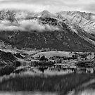 Lake Hayes in Winter by Charles Kosina